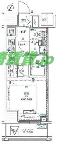 スクエアシティ川崎 / 4階 部屋画像1
