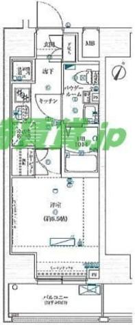 スクエアシティ川崎 / 7階 部屋画像1