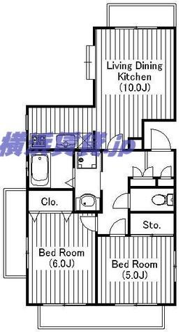 リバーシティ藤沢 / 1階 部屋画像1