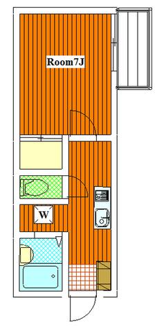 アネックスN / 1C 部屋画像1