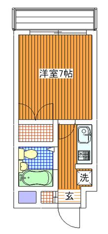 碑文谷壱番館 / 403 部屋画像1