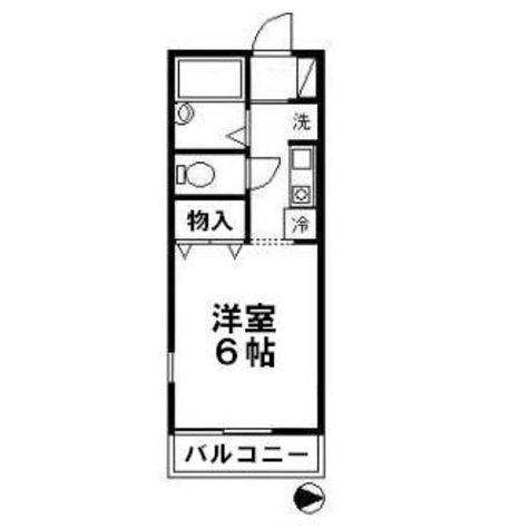 メゾンクアトロ / 101 部屋画像1