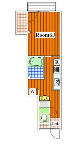 プラムハウス等々力 / 102 部屋画像1
