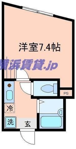 コートドール二俣川 / 303 部屋画像1