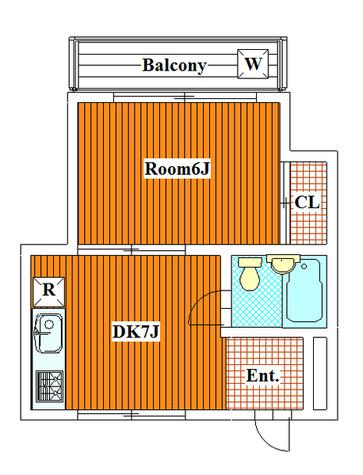 ニコール碑文谷 / 105 部屋画像1