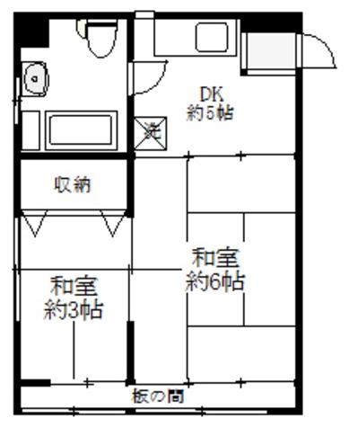 ヨコヤマビル / 303 部屋画像1