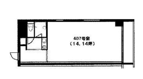 山京目黒ビル / 4階 部屋画像1
