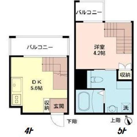 カ・ドゥアーレ(Ca' DUALE) / 2階 部屋画像1