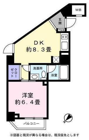 レジディア恵比寿Ⅲ(ベルファース恵比寿) / 5階 部屋画像1