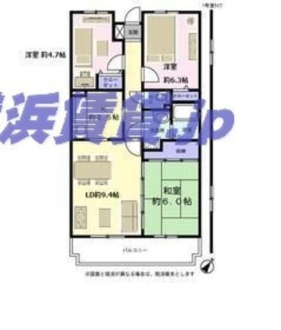 セシオン湘南 / 1階 部屋画像1