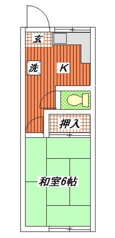 やよい荘 / 2 部屋画像1