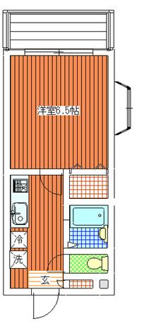 IC尾山台 / 2-C 部屋画像1