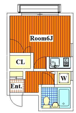 田園調布 15分アパート / 201 部屋画像1