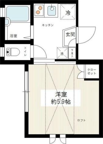 ルーチェヴィータ / 3階 部屋画像1