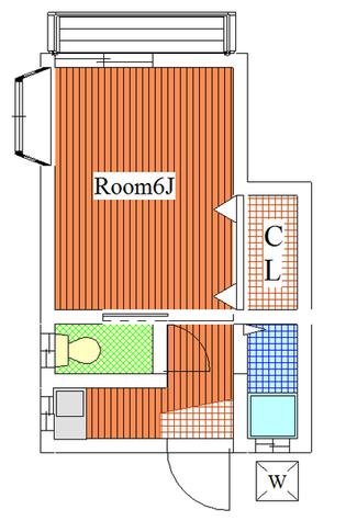 好日荘 / 203 部屋画像1