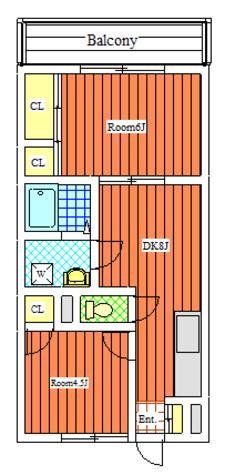 サングリーン中町 / 104 部屋画像1