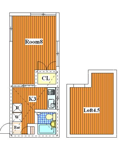 グレイスA / 203 部屋画像1