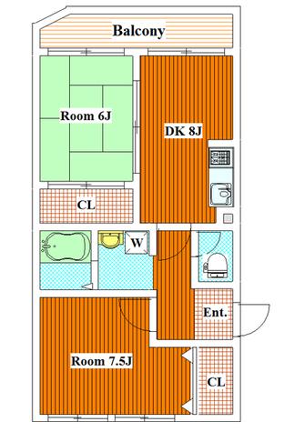 不動前 5分マンション / 4階 部屋画像1