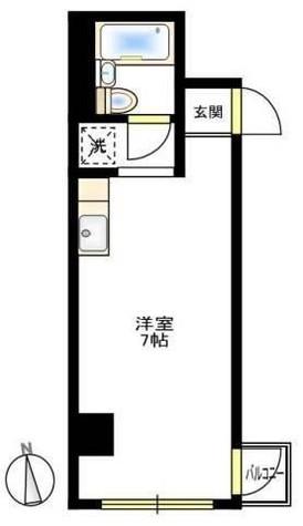 プラーズ浅間町 / 5階 部屋画像1