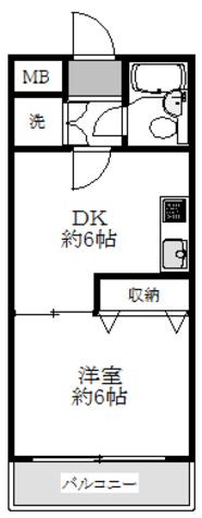 エステブルーミネ / 2階 部屋画像1