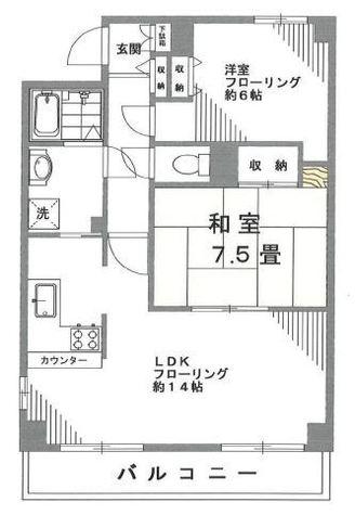 コートアネックス南馬込 / 3階 部屋画像1