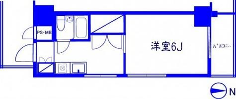 セブンスターマンション島津山 / 5階 部屋画像1