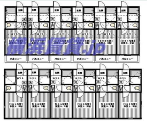 F.O.C RESIDENCE生麦 / 2階 部屋画像1