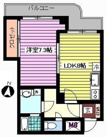 ボルム南品川 / 2階 部屋画像1