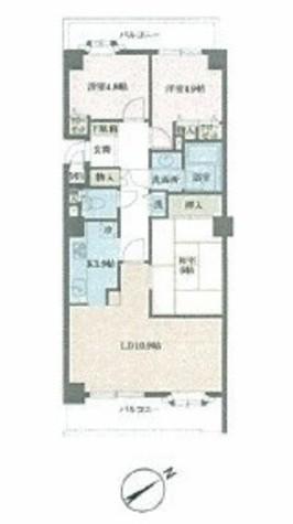 磯子台スカイマンション / 5階 部屋画像1