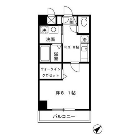 アーバンフォート横浜 / 4階 部屋画像1
