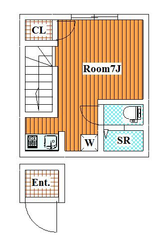 ビュー大岡山 / 203 部屋画像1