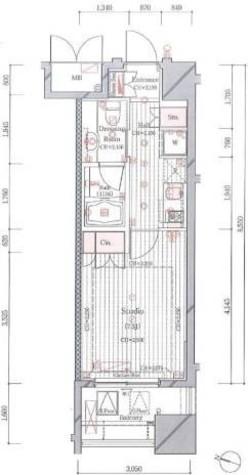 ステラ二番町 / 4階 部屋画像1