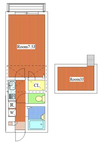 グランシャリオ / 202 部屋画像1
