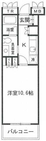 HF新横浜レジデンス / 9階 部屋画像1