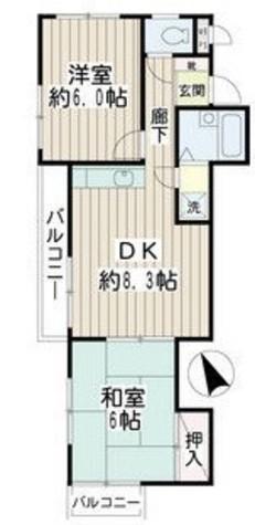 カーサ妙蓮寺Ⅰ / 2階 部屋画像1
