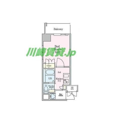 エクセレントプレイス武蔵小杉 / 5階 部屋画像1
