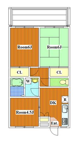 駒沢大学 15分マンション / 104 部屋画像1