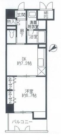 ワイズ新横浜 / 4階 部屋画像1