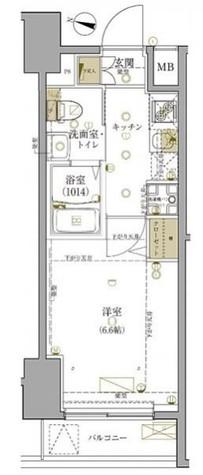 グロース西横浜Ⅱ / 1階 部屋画像1