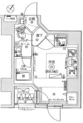 レーヴ横浜蒔田フェルクルール / 503 部屋画像1