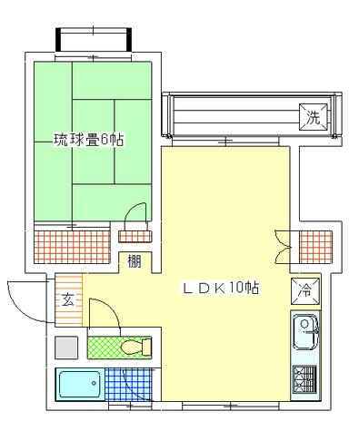 大森 15分マンション / 123 部屋画像1