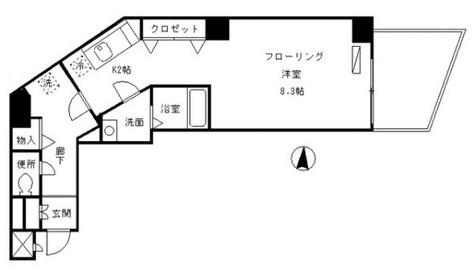 ハイツ清水品川 / 7階 部屋画像1