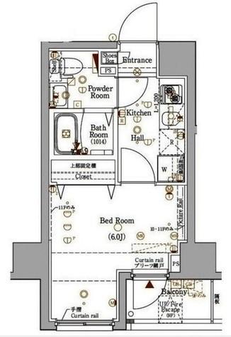ログ桜木町(LOG) / 4階 部屋画像1