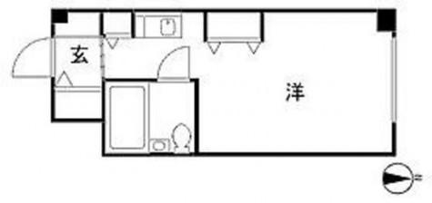 コスモハイム元住吉 / 5階 部屋画像1