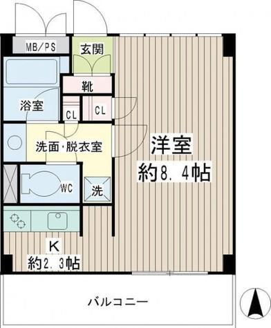 豊岡旭フーガ / 1階 部屋画像1