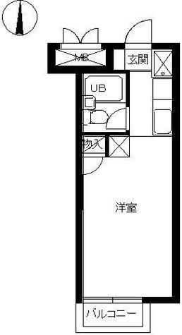 スカイコート鶴見3 / 1階 部屋画像1