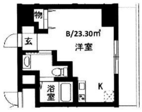 メゾン川崎西口通 / 4階 部屋画像1