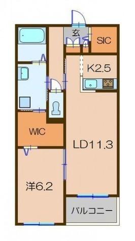 アシュテシュール / 3階 部屋画像1