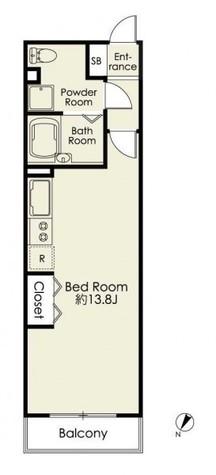 レグラス川崎 / 2階 部屋画像1