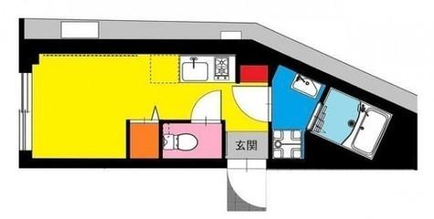 b'CASA Yoshinocho(ビーカーサ吉野町) / 4階 部屋画像1